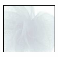 "Tulle - White <br>6"" x 25 Yard Roll"