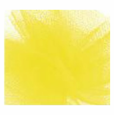 "Tulle - Yellow <br>6"" x 25 Yard Roll"