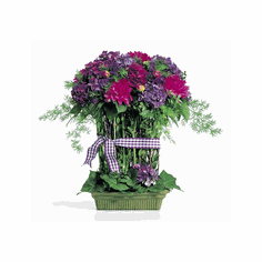 Western Pulp Urn <br> One Brick <br> Fresh Basil
