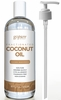 goPure Fractionated Coconut Oil - 100% Pure & Natural Coconut Oil - Premium Grade 16 Fl Oz