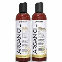GoPure Argan Oil Shampoo & Conditioner Duo Kit