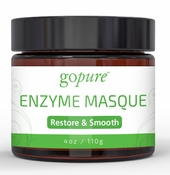 goPure Restorative Enzyme Mask with Active Fruit Enzymes, Glycolic Acid and Gotu Kola