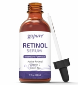 goPure Retinol Facial Serum - Active Retinol with Jojoba Oil, Aloe Vera and Green Tea