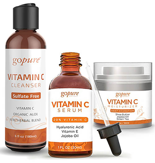 vitamin c beauty products