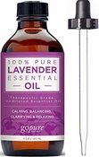 goPure Lavender Essential Oil - Large 4 Fl Oz - 100% Pure Lavender Oil
