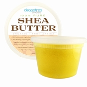 Gold Shea Butter 100% Organic,Unrefind & Raw - Grade A Highest Quality