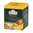 Ahmad Black Tea - Peach and Passion Fruit (10 Ct.)