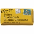 Chocolove Bar - Milk Chocolate Toffee Almond (33%)