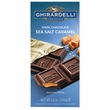 Ghirardelli Prestige Bar - Dark & Sea Salt Caramel