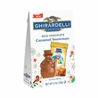 Ghirardelli Snowman Bag - Milk Chocolate Caramel