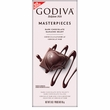 Godiva Masterpieces - Dark Chocolate Ganache Heart Bar