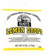 Claeys Lemon Candy Drops