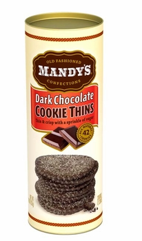 Mandy's Cookie Thins - Dark Chocolate