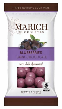 Marich Chocolate Blueberries - Single Serve