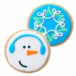 The Decorated Cookie - Snowman and Snowflake Assortment
