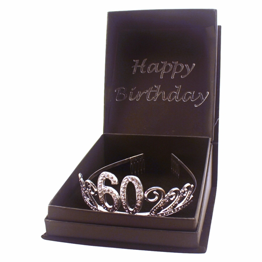 60th Birthday Gem Tiara