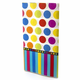 Dots and Stripes Birthday Table Cover