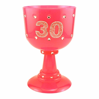 Pink Diamond 30 Goblet