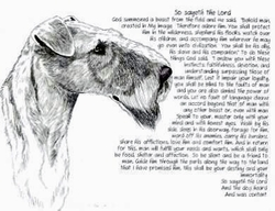 """Airedale Terrier """"So Sayeth"""" Limited Edition Print"""