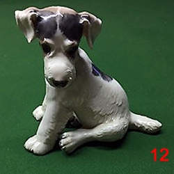 Fox Terrier Figurine 12