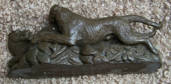 "Irish Wolfhound ""Cold Cast Bronze"""