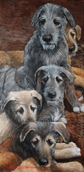 "Irish Wolfhound ""Puppy Party"""