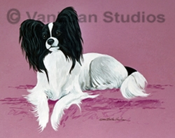 "Papillon ""Pap On Mauve"""