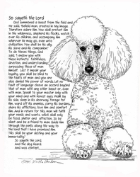 "Poodle - Standard ""So Sayeth"""