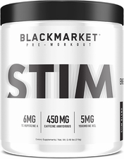 BlackMarket Labs STIM 30/60 Servings