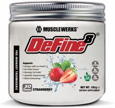 MuscleWerks DeFine8 30 Servings