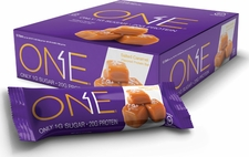 OhYeah! ONE Bar Salted Caramel - Box of 12