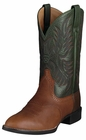 Ariat Mens Heritage Stockman Cedar Green Leather Cowboy Boots 10002258