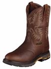 Ariat Mens Pull-On Dark Copper Leather Boots 10001187