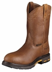 Ariat Mens Workhog Golden Grizzly Leather Boots 10001186