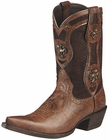 "Ariat Womens Presidio Collection Dry Creek Brown 9"" Shaft Leather Boots 10008756"