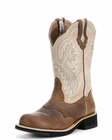 Ariat Womens Showbaby Boot Earth/Bone Crackle 10005904