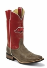 Arkansas Razorbacks Mens Officially Licensed Boots by Nocona MDARK20