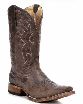 Corral Mens Basic Tobacco Square Toe Boot L5094