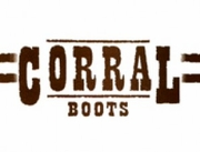 Corral Women's Black & Bone Tulip Inlay & Studs Boot A2947