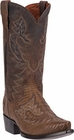 "Dan Post Men's ""Asheville"" Bay Apache Leather Cowboy Boots DP2361"