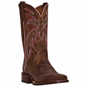 "Dan Post Mens ""Bail Out"" COWBOY CERTIFIED Boots Tan Leather DP3807"