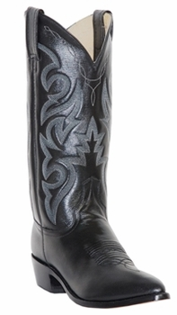 "Dan Post Mens ""Milwaukee"" Western Boots Black Leather DP2110"