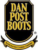 """Dan Post Sanded Brown Leather with Pink Wingtip and Collar 11"""" Leather Boots DP3459"""