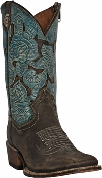 "Dan Post Women's ""Garden Party"" Cowgirl Certified Boots DP3910"
