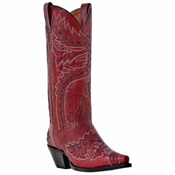 "Dan Post Women's ""Sidewinder"" Lipstick Volcano Fashion Boots DP3455"
