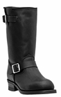 Dingo Men's Engineer Black Leather Boots DI19040