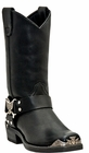 Dingo Men's Harness Eagle Strap Leather Boots DI19053