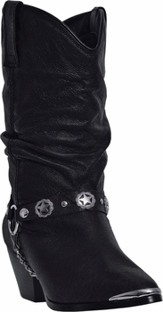 "Dingo Women's ""Olivia"" Black Western Fashion Boots DI-522"