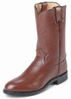 Justin Boots Mens Classic Western Tan Kiddie Roper Boots 3404