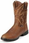 Justin Boots Mens George Strait Collection 3.1 Pull On Series Sunset Rage Waterproof Boots 9018